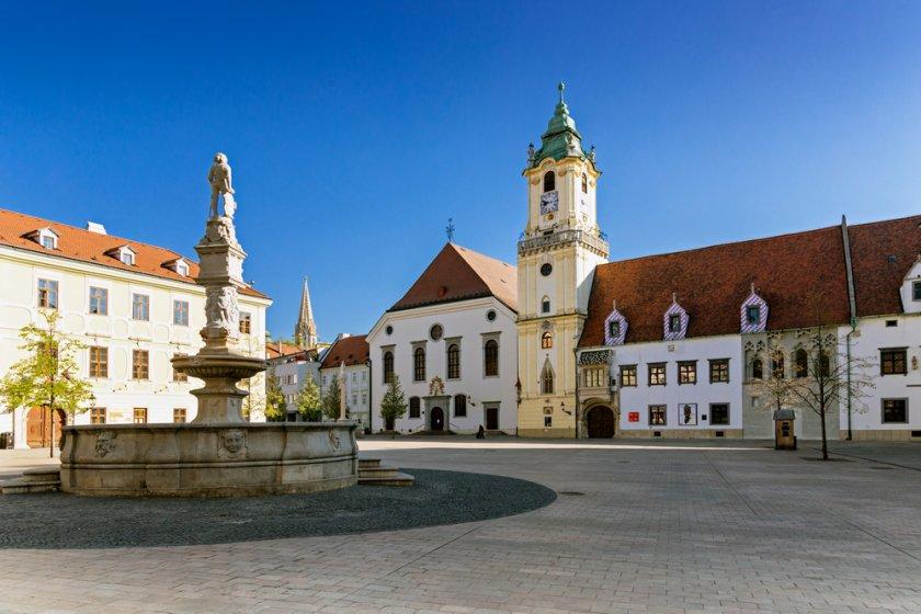 Suositut kohtaamispaikat Bratislavassa