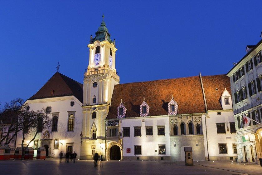 Viktigste turiststeder i Bratislava