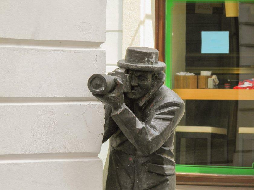 Street statues of Bratislava