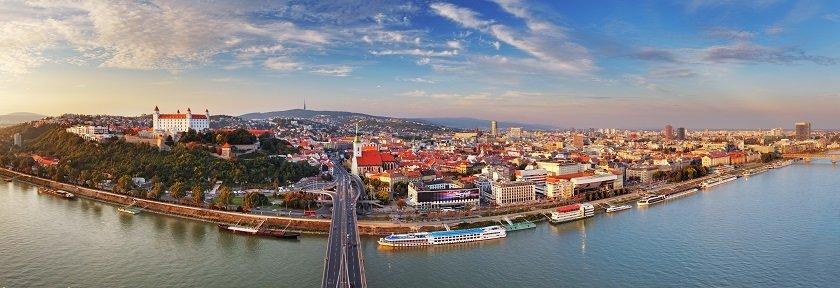 Doskonałe punkty widokowe Bratysławy