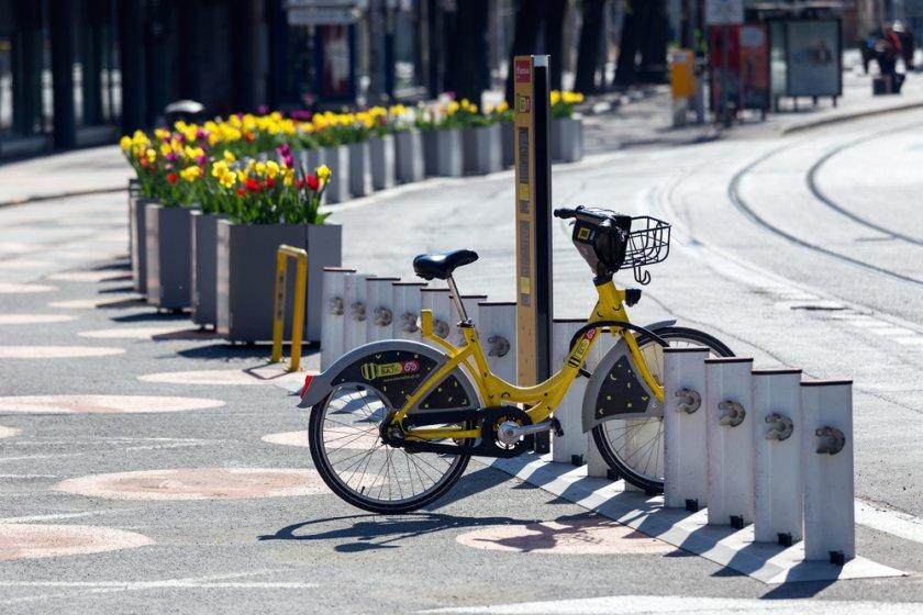 Bike - sharing w Bratysławie
